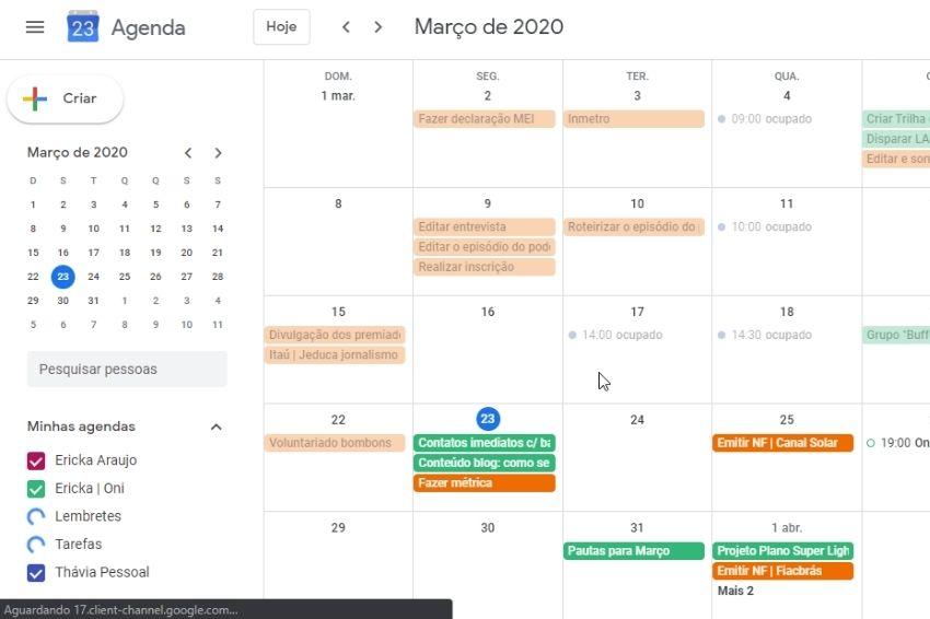 Agenda do Google: Como usar de maneira mais produtiva