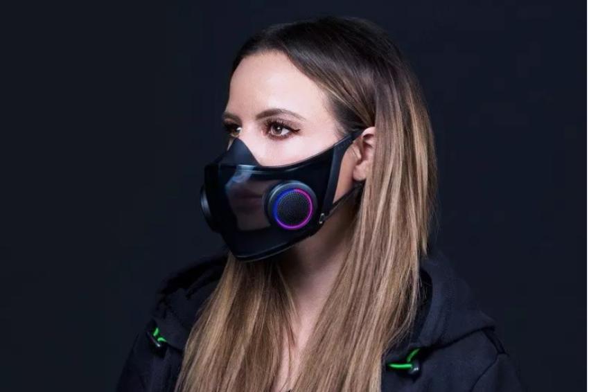Empresa de equipamentos gamers cria máscara de proteção com respirador e amplificador de voz