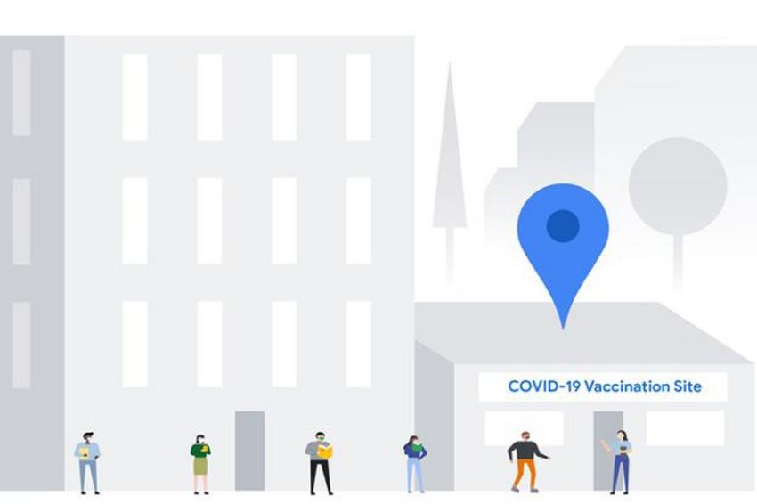 Google informa locais de vacinação contra Covid-19