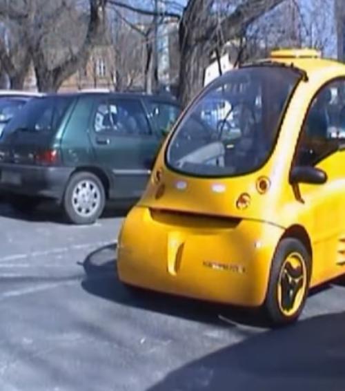 Conheça o Kenguru, carro elétrico para pessoas com deficiência física