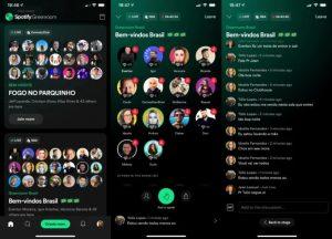 Spotify lança app para concorrer com Clubhouse