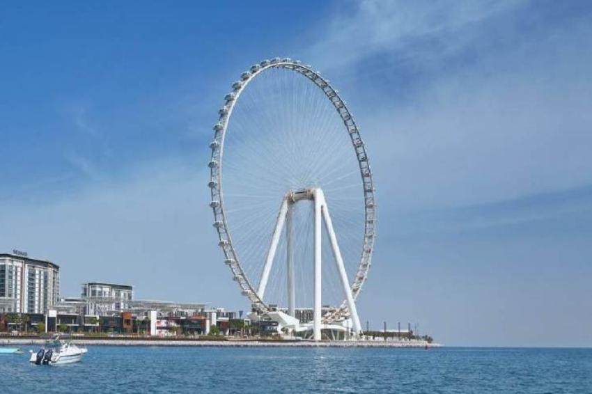 Dubai inaugura maior roda-gigante do mundo